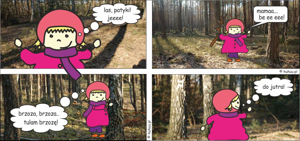 Kulka w lesie!